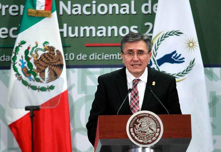 El ombudsman Luis Raúl González Pérez asegura que las desapariciones en México ponen a prueba a las instituciones y evidencian las carencias que existen. (Archivo/Notimex)