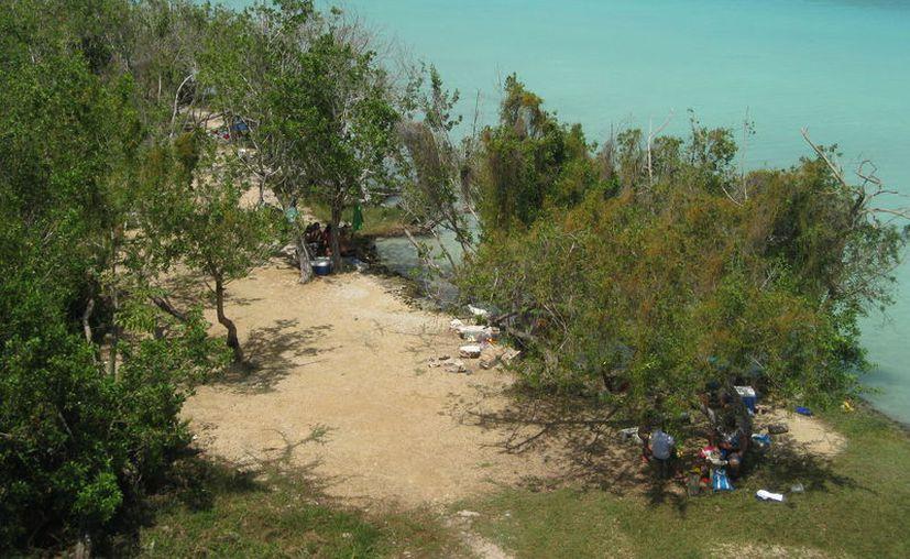 Los hoteles se construirán en la orilla de la laguna de Bacalar. (Javier Ortiz/SIPSE)