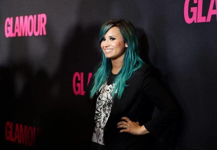 Demi Lovato se une a la campaña 'Soy Feliz' de la Fundación Todo Mejora en Chile, que busca prevenir el suicidio, sobre todo en la comunidad LGTB. (EFE/Archivo)