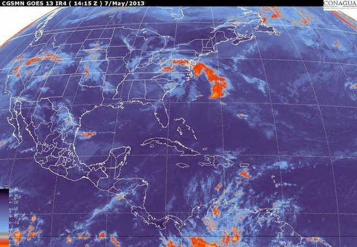 Soplarán vientos del este y sureste de 20 a 40 km/h. ( Cortesía/SIPSE)