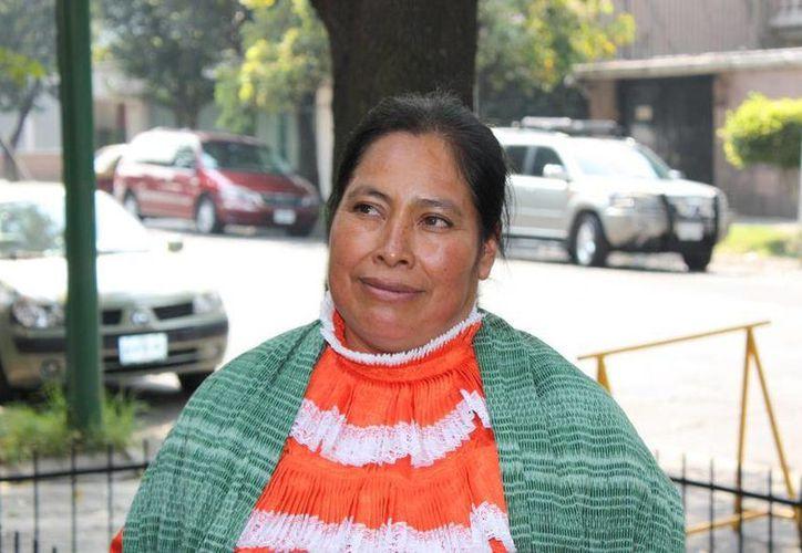 La única petición de Jacinta es que se haga justicia en su caso. (centroprodh.org.mx)