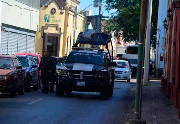 La Policía Municipal realizó diferentes operativo para poder brindar seguridad a las personas durante la celebración de fin de año. (Archivo/SIPSE)