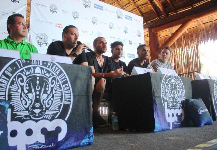 Durante la presentación oficial del festival BPM se anunció la App del evento. (Daniel Pacheco/SIPSE)