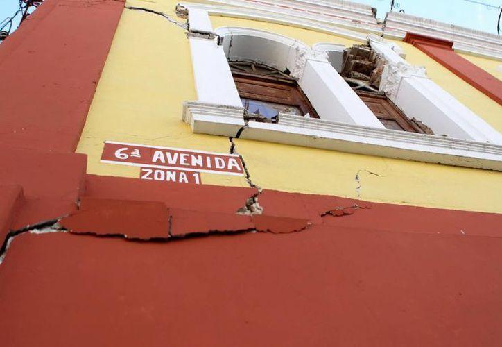 El sismo del 7 de julio con epicentro en Tapachula ocasionó muertos y daños considerables tanto en Guatemala (foto) como en México. (Notimex/Foto de archivo)