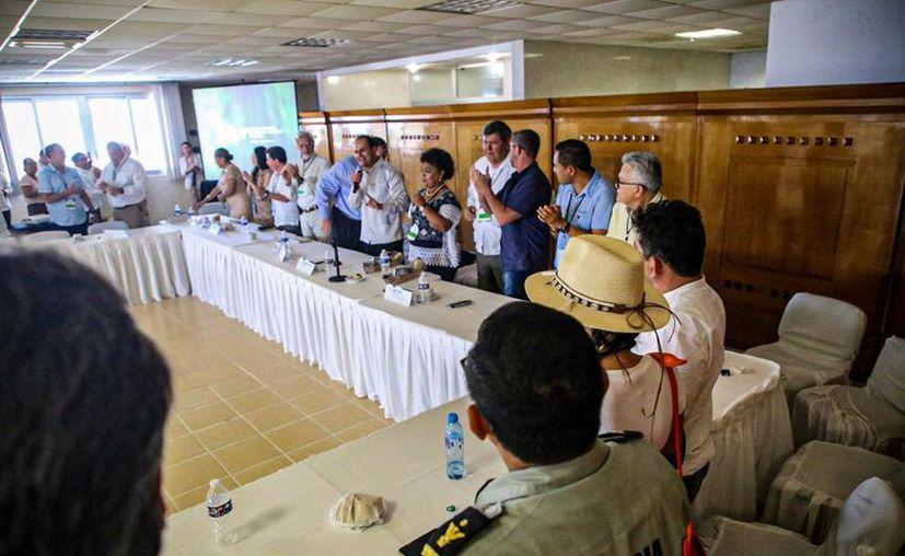 Las autoridades trabajarán en coordinación con los tres órdenes de gobierno para cumplir los acuerdos del encuentro. (Cortesía)