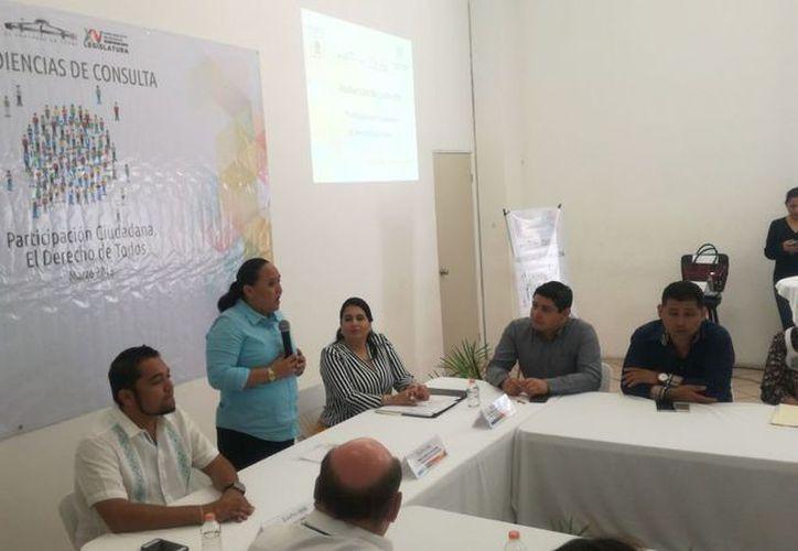 El evento fue realizado en el auditorio del Ayuntamiento de Solidaridad. (Daniel Pacheco/SIPSE)
