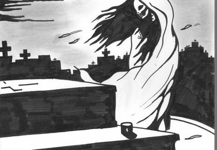 Afirman que el alma en pena de Minelia aún se aparece en el panteón, donde veía con su enamorado. (Jorge Moreno/SIPSE)