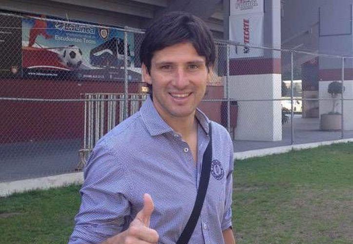 """El técnico azulgrana, Gabriel """"Místico"""" Pereyra aseguró que el equipo  se mentaliza en alcanzar el objetivo de llegar a la final. (Redacción/SIPSE)"""
