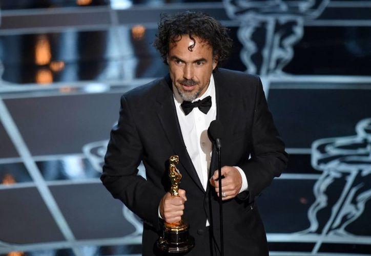 Alejandro González Iñárritu gana esta noche el Oscar a mejor director. (AP)