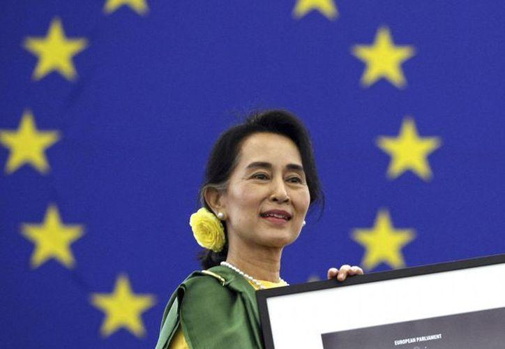 Suu Kyi estuvo presa por 15 años. (Agencias)