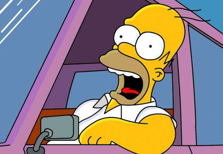 Un conductor del sur de Inglaterra presentó una licencia a nombre de Homero Simpson. (Foto: Contexto)