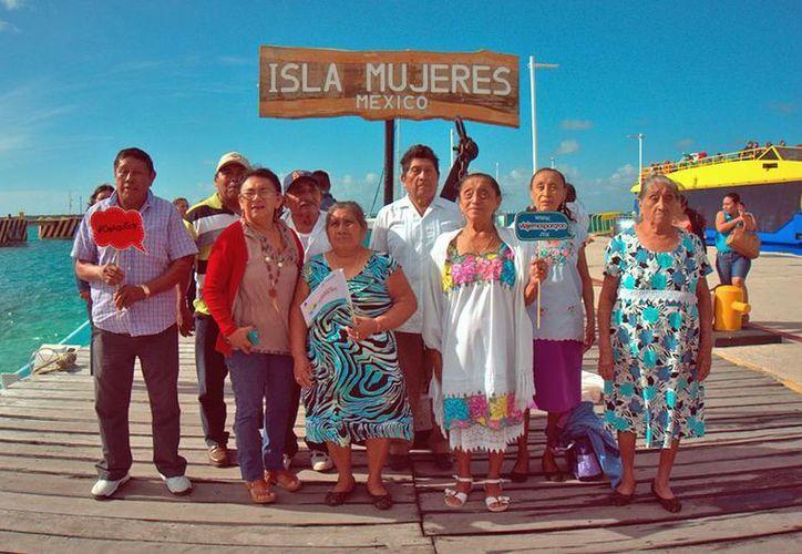 Esta salida formó parte de la Ruta Gratuita para Turismo Vulnerable, inmersa en el programa Viajemos por Quintana Roo e impulsado por la Secretaría de Turismo. (Jesús Tijerina/SIPSE)