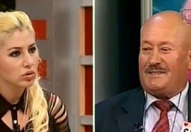 Captura de video del programa en el que participó Sefer Calinak. (YouTube)