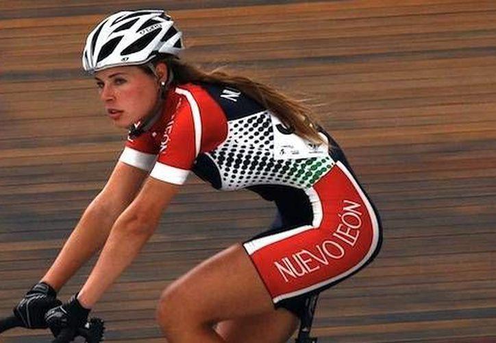 México ganó bronce en ciclismo por equipos en los Juegos Panamericanos. En la foto, una de las cuatro mexicanas, Ingrid Drexel. (federacionmexicanadeciclismo.com.mx/Foto de archivo)