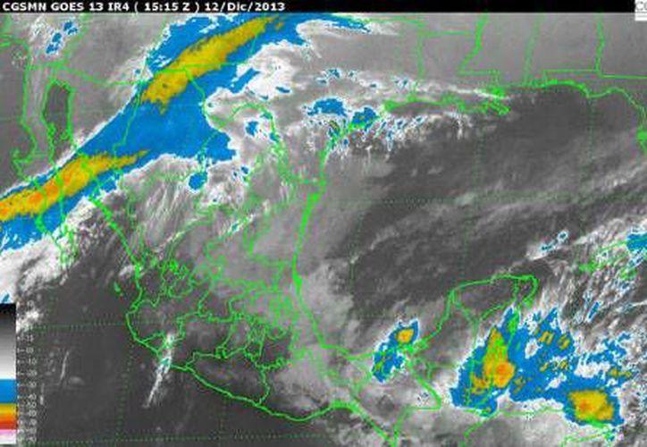 Las tormentas pueden estar acompañadas de actividad eléctrica, así como lluvia intensa. (Conagua)