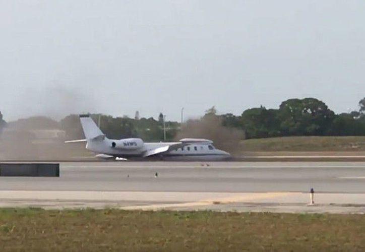 Afortunadamente todos los pasajeros y el piloto resultaron ilesos. (RT)
