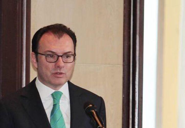 Videgaray afirmó que Pemex continúa siendo una empresa atractiva para las inversiones internacionales. (Notimex)