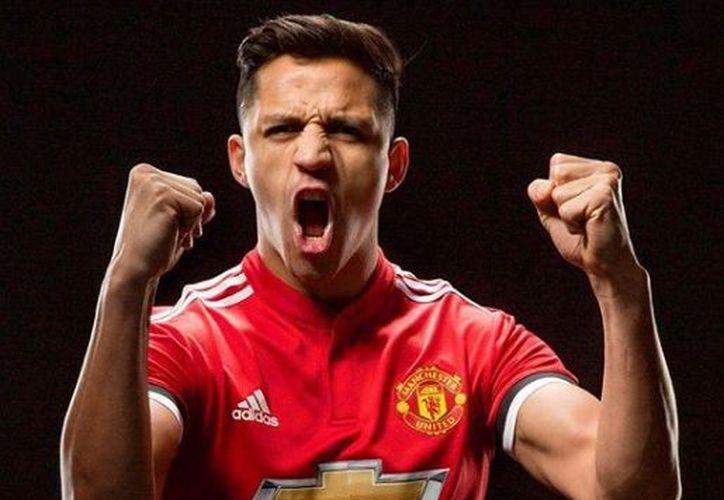 ''Alexis Sánchez batió un nuevo récord de ventas de camisetas para un fichaje hecho en enero''. (Instagram: Manchester United)