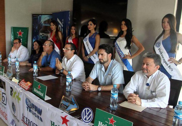 Los organizadores dieron a conocer los pormenores del próximo evento golfístico en la Ciudad de Mérida. (Amílcar Rodríguez/Milenio Novedades)