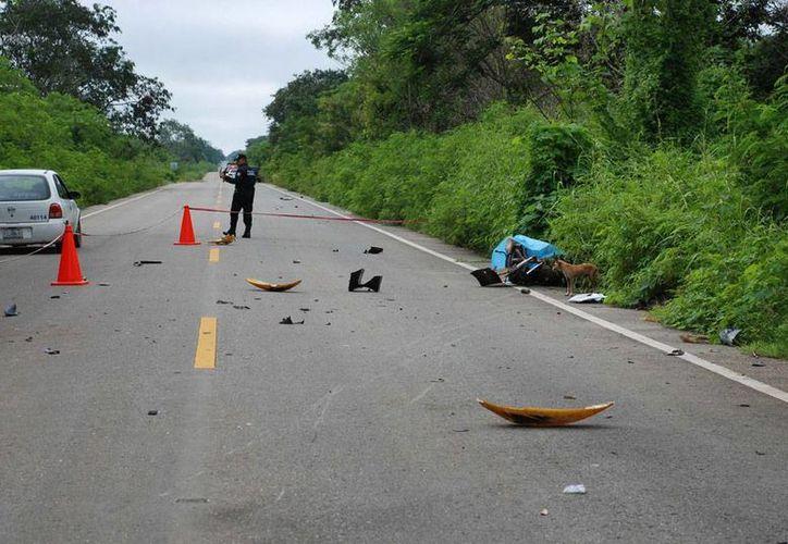 El costo económico de los accidentes de tránsito en México que alcanza el 1.7 por ciento del PIB de México; la mitad de los percances son provocados por llantas en mal estado. La imagen es meramente ilustrativa de los accidentes. (Archivo/Milenio Digital)