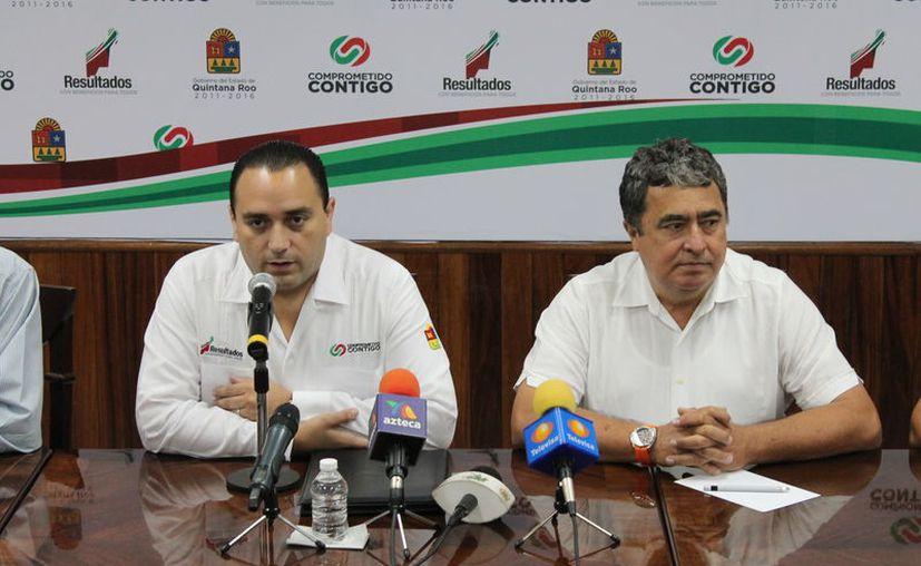 El exgobernador de Q. Roo, Roberto Borge Angulo, y Gabriel Mendicuti Loría, ex titular de la  Secretaría de Gobierno, ya tienen orden de aprehensión por el caso VIP Saesa. (Archvio/SIPSE)