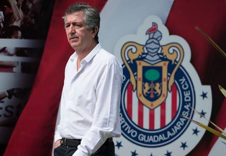 Televisa podría perder los derechos de transmisión de las Chivas en el próximo torneo, así lo afirmó su presidente, Jorge Vergara. (Archivo Mexsport)