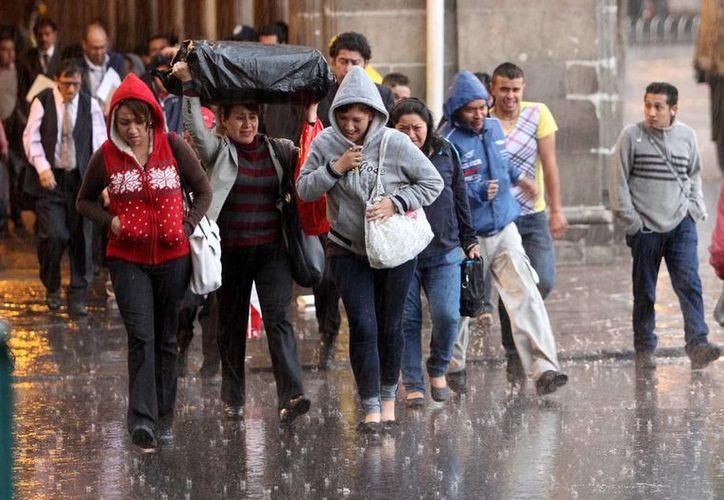 Según la Conagua, en el Soconusco Chiapas se esperan lluvias puntuales de 75-150 milímetros en las próximas 48 horas. (Notimex/Foto de contexto)