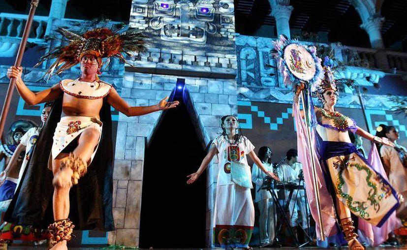 El evento reúne a la zona maya. (Milenio Novedades)