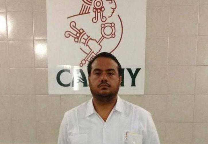 Héctor Navarrete Medina, presidente de la AMHY. (Novedades Yucatán)
