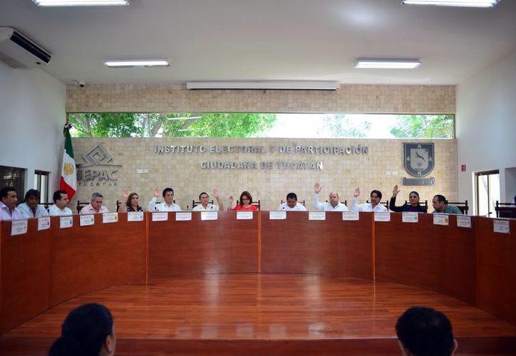 El Consejo General el Iepac determinó las fórmulas para registro de candidaturas para las próximas elecciones. (SIPSE)