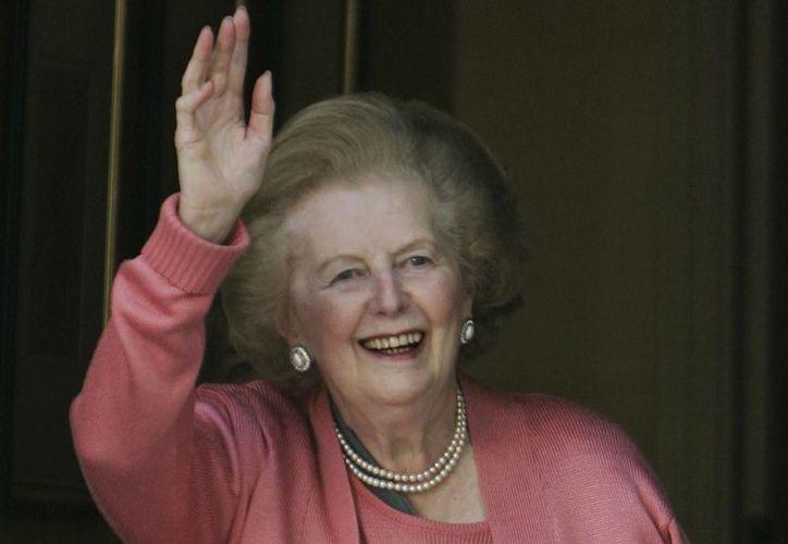 Thatcher fue jefa del gobierno británico de 1979 a 1990 tras ganar tres elecciones generales consecutivas y fue la única primera ministra en la historia del Reino Unido. (Agencias)
