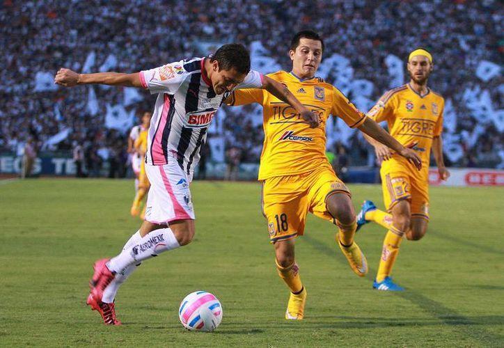 Monterrey alcanzó en el segundo tiempo a los Tigres. (Foto: Jam Media)
