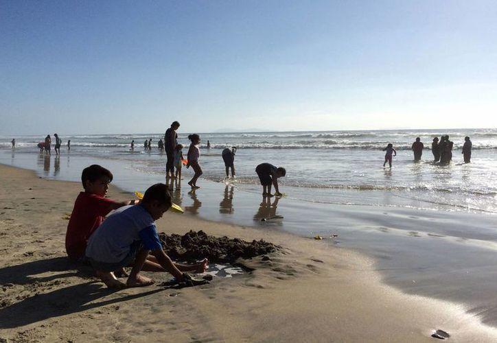 En la zona del Pacífico mexicano se prevén temperaturas calurosas en el transcurso del día. (Notimex)