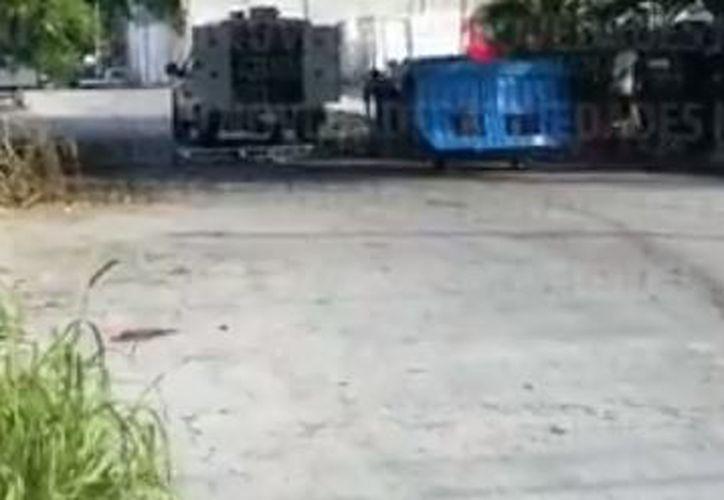 Los hechos ocurrieron en la calle 5 sur, entre bulevar y avenida 55 de Playa del Carmen. (Ángel Euán)