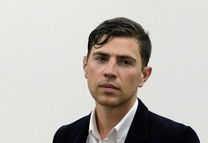 Vitalii Sediuk era periodista de la televisión ucraniana 1+1, la cual lo despidió hace unas tres semanas. (AP)