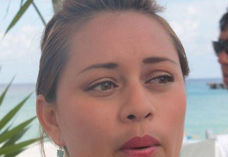 Perla Tun Pech, diputada por Cozumel. (Julián Miranda/SIPSE)