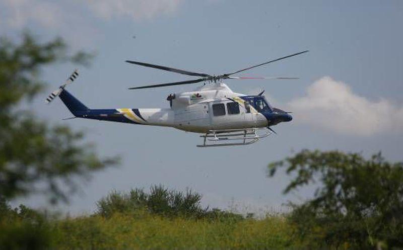 Se desploma helicóptero de la Sedena en Guerrero