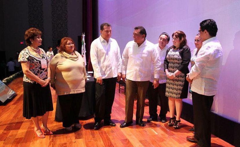 El seminario 'Una respuesta a la violencia contra las mujeres' se realizó en la Sala Mayamax del Gran Museo del Mundo Maya. (Cortesía)