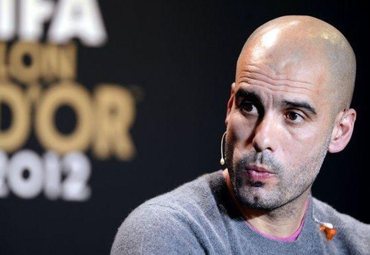 """A """"Pep"""" Guardiola le han llovido ofertas de los mejores clubes del mundo, entre ellos el Chelsea y el AC Milán. (Agencias)"""