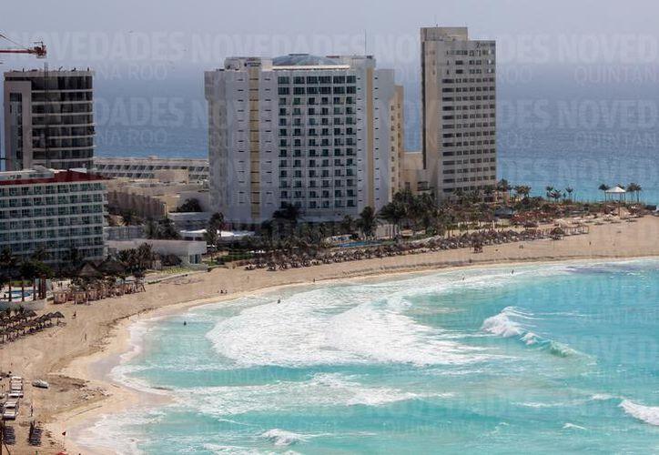 Cancún encabeza la lista de los destinos más visitados por turistas. (Archivo/ SIPSE)