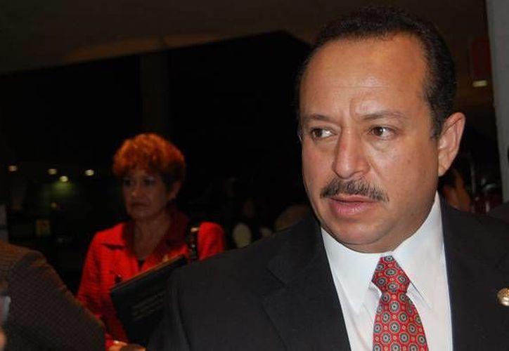 El líder transportista José Trinidad Martínez Pasalagua fue detenido por primera vez en abril de este año. (transportandoamichoacan.org)