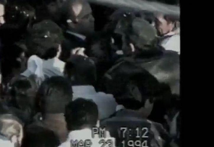 El INAI desclasificó el video completo del asesinato de Luis Donaldo Colosio. (Impresión de pantalla)