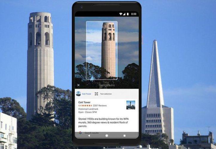 Google Lens es una aplicación que permite al usuario escanear cientos de elementos. (Google)