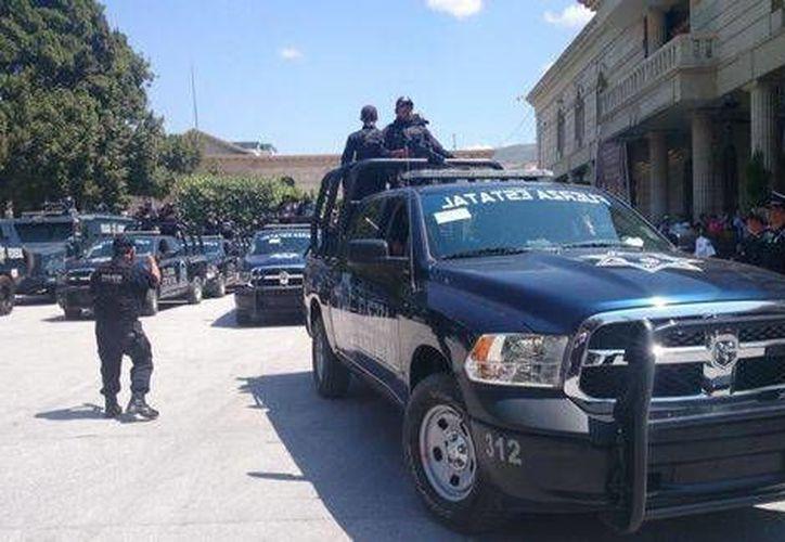 La Policía Federal asumió el control en Chilpancingo, capital de Guerrero. (Rogelio Agustín Esteban/Milenio)