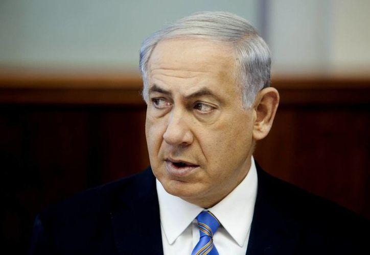 El premier israelí, Benjamín Netanyahu, asegura que el gobierno palestino 'fortalecerá el terrorismo'. (AP)