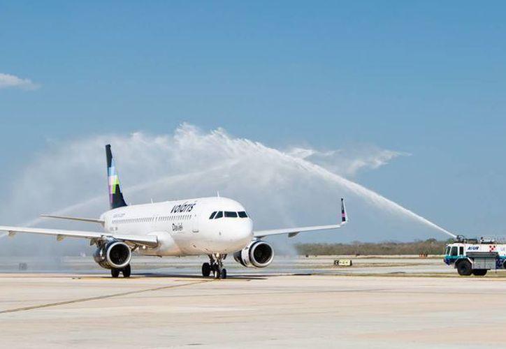 El nuevo vuelo entre Mérida y Monterrey permitirá aumentar el flujo turístico y de negocios entre ambas ciudades. (Cortesía)