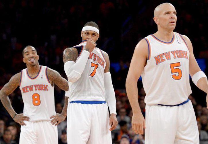 Hasta mayo Kidd (d) jugaba con Knicks de Nueva York. (EFE)