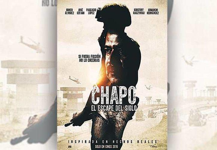 'El Chapo, el escape del siglo', llegará a la pantalla grande el próximo 15 de enero. (Agencias)