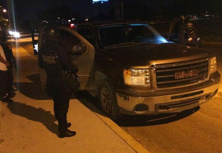 El conductor fue detenido. (Redacción/SIPSE)
