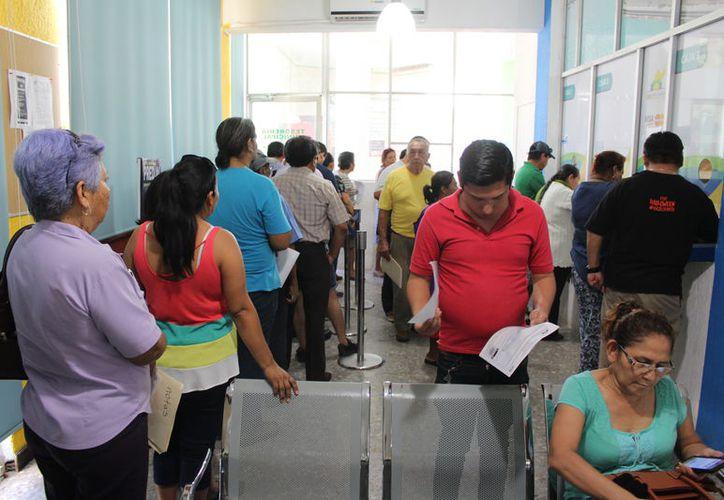 Este año aumento el número de contribuyentes que se acercaron a regularizar atrasos en sus pagos del predial. (Joel Zamora/SIPSE)